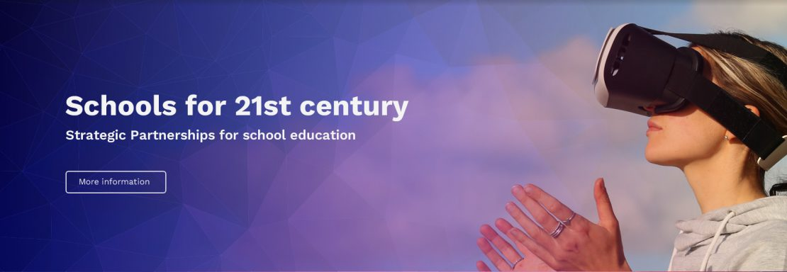 Schools for 21st century. Strategic Partnerships for school education